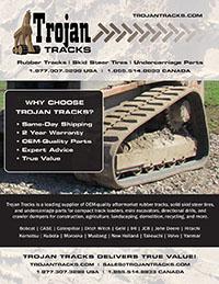 Multi Terrain Loader Wear Parts - Trojan Tracks