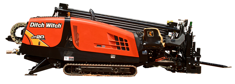 DitchWitch JT20 rubber tracks
